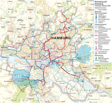 hamburg kart atlas hamburg