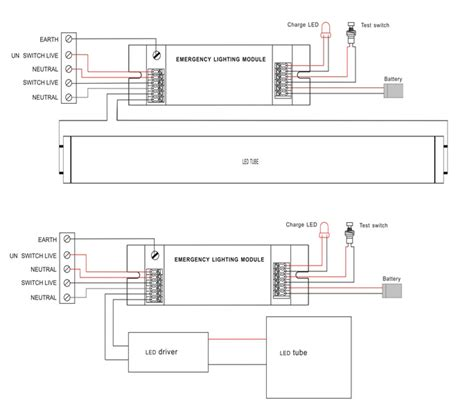 diagrams 480340 maintained emergency lighting wiring