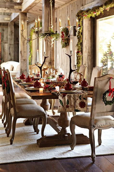 christmas dining room decorations recipe for a happy holiday table williams sonoma taste