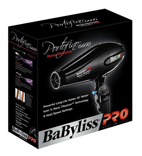 Babyliss Pro Hair Dryer Nano Titanium Portofino Blue babyliss pro babntb6610n nano titanium portofino dryer blue luxury