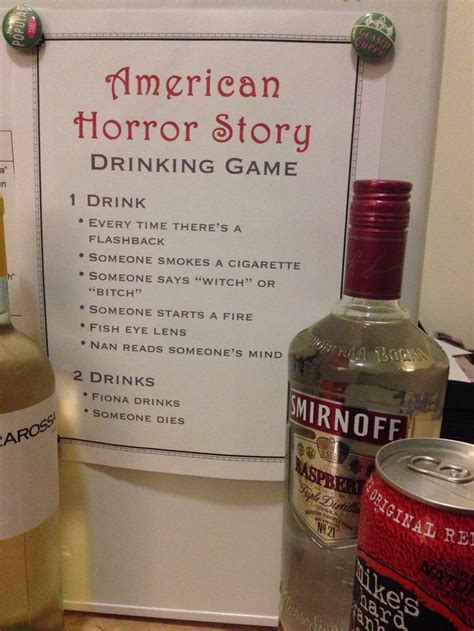 ideas for a potential american horror story feature tried and true american horror story drinks horror stories