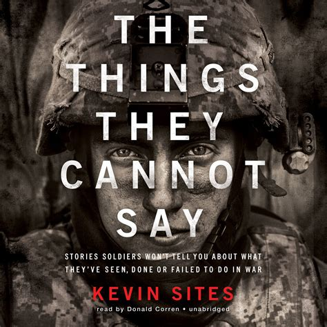 things they won t tell you the solution books the things they cannot say audiobook by kevin