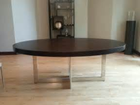 dining table with stainless steel legs contemporary large oval wood dining table with