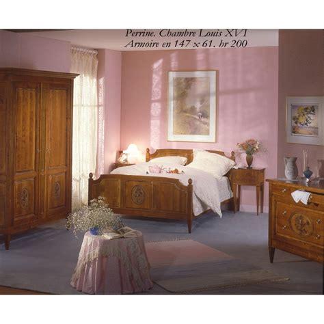 chambre à coucher merisier chambre style louis xvi