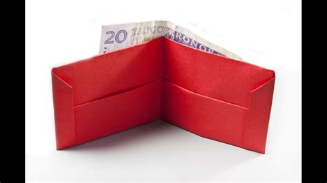 How To Make A Origami Wallet - origami 3d gifts