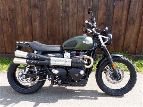 Motorrad Triumph Street Scrambler motorrad occasion triumph street scrambler 900 custom