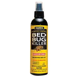 Bed Bug Spray Reviews by Harris 8 Oz Bedbug Killer Hbb 8 The Home Depot