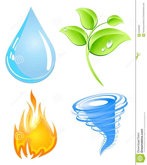 earth elements stock vector image of element basic