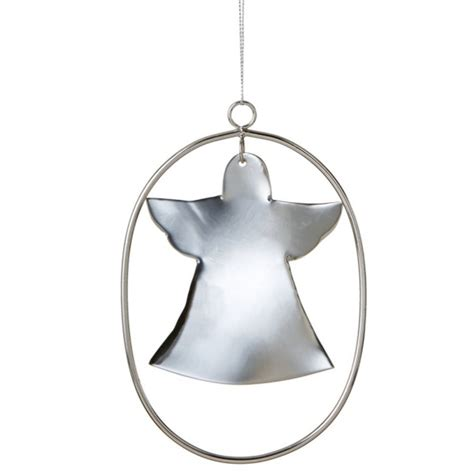 cut out angel christmas ornament
