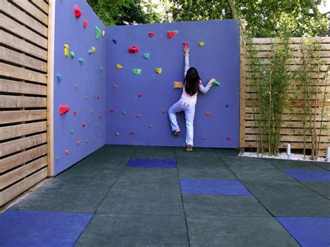 diy outdoor climbing wall how to create unique play areas for kids install it direct