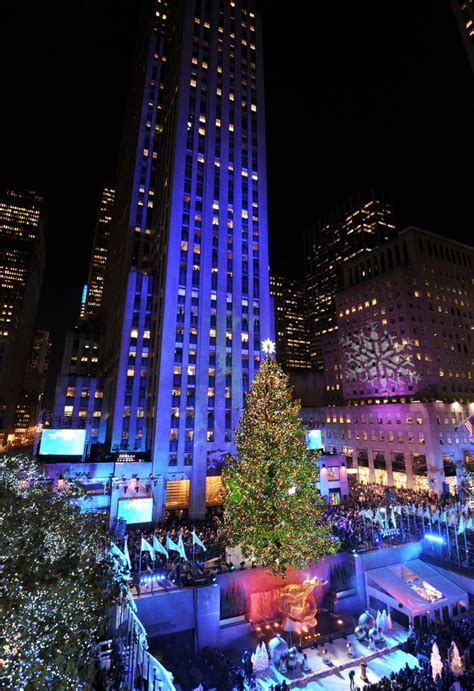 Rockefeller Center Christmas Tree Lighting 2012 New Manhattan Tree Lighting