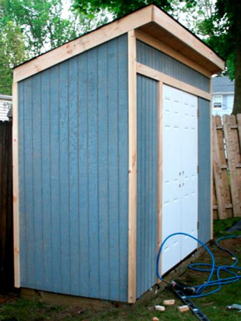 Build A Shed Diy by How To Build A Storage Shed For Garden Tools Hgtv