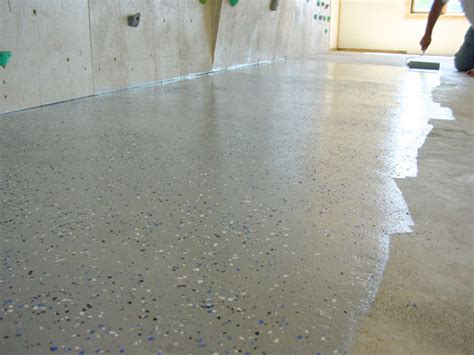 Concrete Floor Epoxy Coating by Ask Steve Maxwell How To Fix Concrete Floor Cracks With