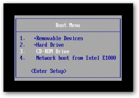 changing your pc's boot device priority
