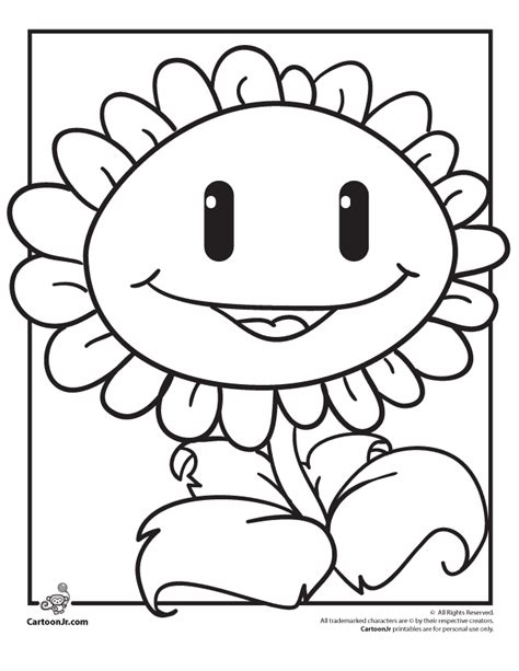 printable coloring pages plants vs zombies plants vs zombies coloring pages coloring home