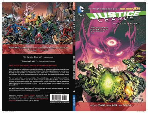 justice league hc vol 1401263410 dec130297 justice league hc vol 04 the grid previews world