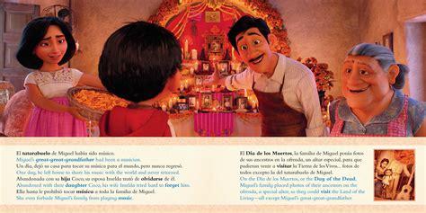 film coco in spanish disney pixar coco movie storybook libro basado en la