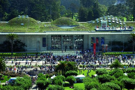 San Francisco Institute Of Architecture Green Mba by California Academy Of Sciences Renzo Piano Building