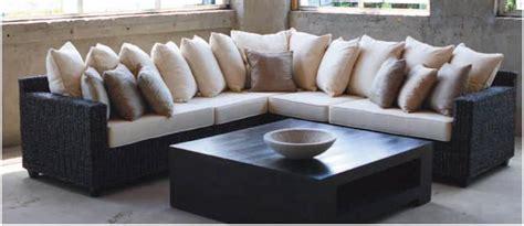 teak l shape sofa set with coffee table 3 seater sofa