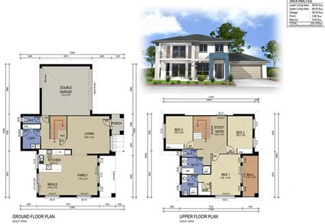 2 storey house designs and floor plans