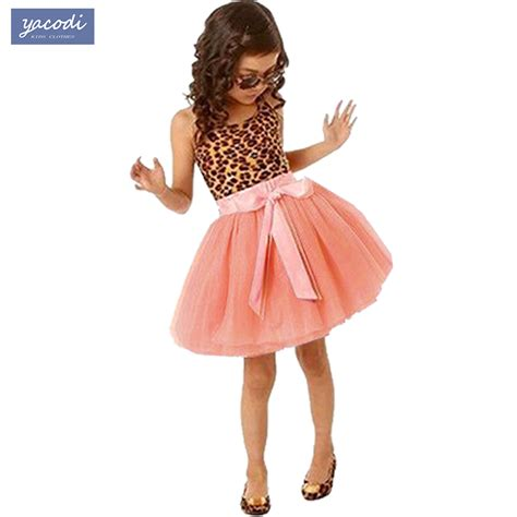 kids fashion advice and finds for girls and boys cute fashion girls dresses summer 2016 sleeveless leopard