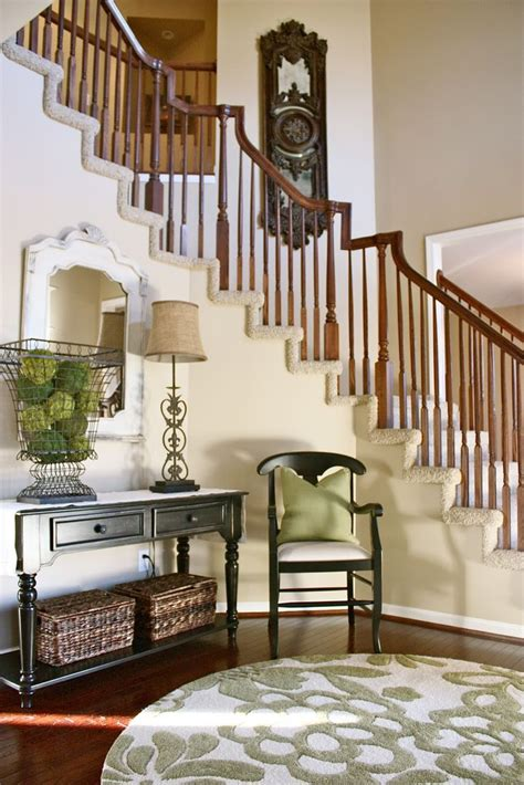 2 story foyer decor the yellow cape cod before and after foyer ideas