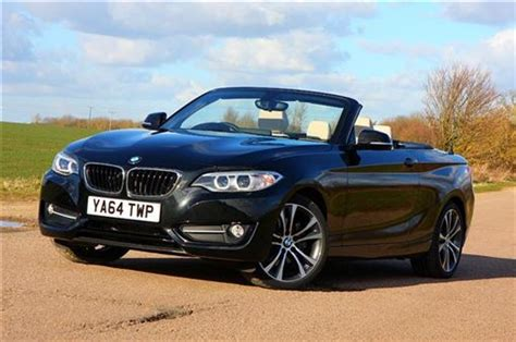 BMW 2 Series Convertible 220d Sport 2d Road Test   Parkers