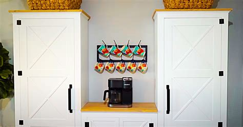 diy farmhouse kitchen pantry cabinet   plans