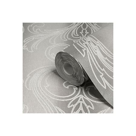 glitter wallpaper b and q graham brown valentino silver damask glitter effect