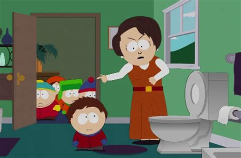 south park mom bathroom watch south park reveal the dangers of leaving the