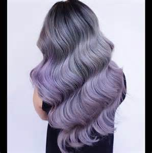 color of hair smoky lilac hair color ideas best hair color trends 2017