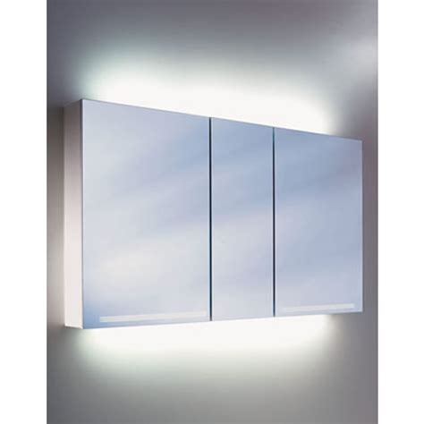 bathroom mirror cabinets with led lights schneider graceline 3 door mirror cabinet uk bathrooms