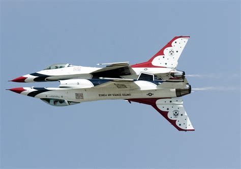 The U S Air thunderbirds gt u s air gt fact sheet display