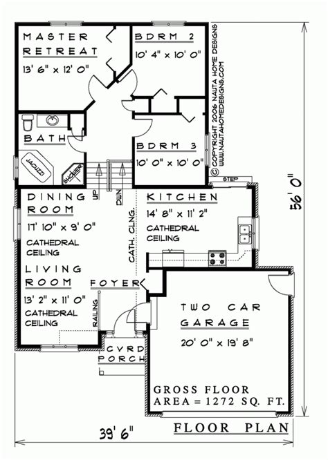 Back Split House Plans by 3 Bedroom Backsplit House Plan Bs145 1272 Sq