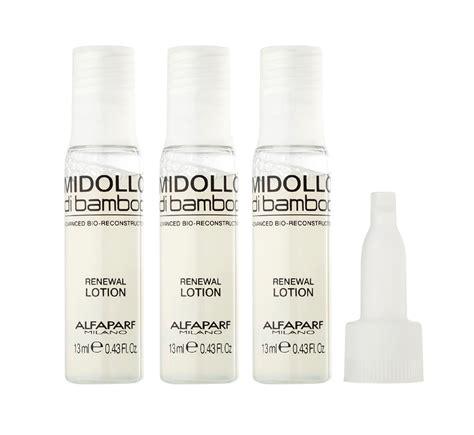 alfaparf midollo di bamboo renewal lotion hair treatment alfaparf midollo di bamboo renewal lotion 12 x 13ml