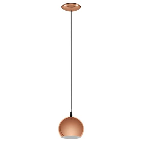 Led Pendant Light Fittings Eglo Lighting Petto Led Ceiling Fitting In Shiny Copper Finish Lighting Type From Castlegate
