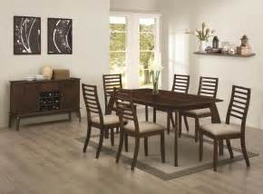 casual dining room chairs coaster furniture stanley casual dining roomn 10495 dining room group 1 dining room mr