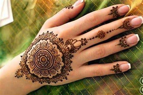 simple arabic mehndi designs  beginners