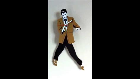 elvis clock swinging legs elvis presley swinging legs clock youtube