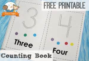 printable number books 1 10