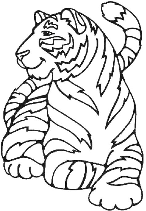 coloring book pages tiger printable tiger coloring pages coloring me