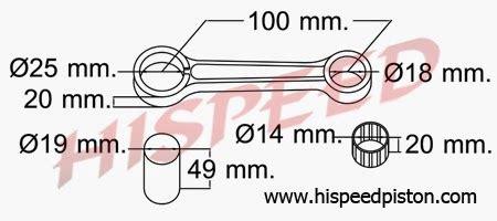 Stang Seher Piston Suzuki Ts 125 daftar connecting rod stang seher motor suzuki serba
