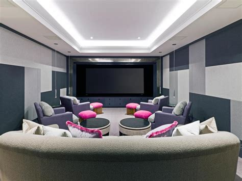 Design Modern Home Theater Cool Media Rooms That Will You Away Small Modern Room Ideas Home Theater Room Layout