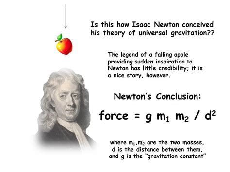 isaac newton biography gravity the key to physical attraction it s called gravity and
