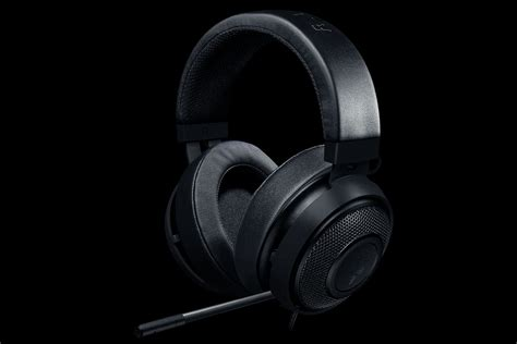 Headset Gaming Razer Kraken Pro V2 Analog Gaming Headset Black razer kraken pro v2 analog gaming headset black oval