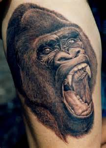 silverback tattoo gorilla tattoos designs ideas and meaning tattoos for you