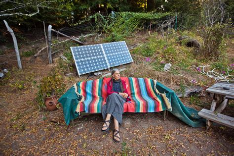Small Solar Light - powerful photos of people living off the grid to inspire your escape from the city