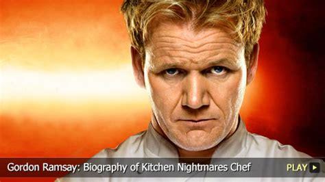 biography of gordon ramsay gordon ramsay biography of kitchen nightmares chef