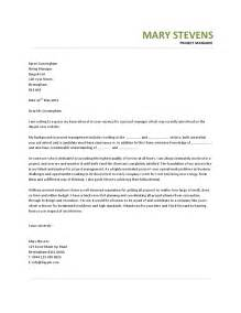 cover letter for project management project manager cover letter exle hashdoc