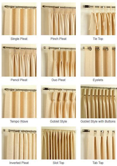 curtain hanging styles home and garden choices window and curtain headings